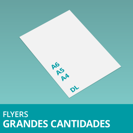 Flyers Grandes Cantidades