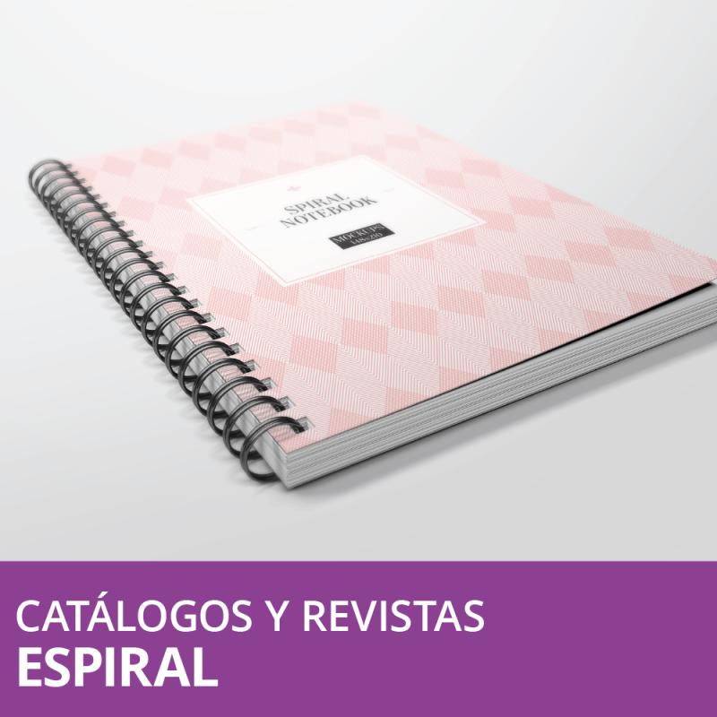 Revistas y Catálogos Espiral Metálico