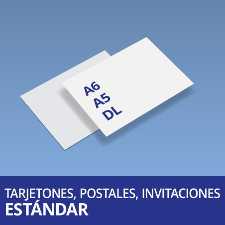 Tarjetones, Postales, Invitaciones Estándar