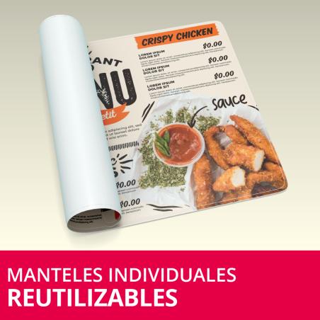 Manteles Individuales Reutilizables