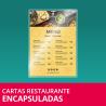 Cartas Restaurante Encapsuladas