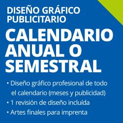 Diseño de Calendario Anual o Semestral
