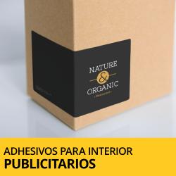 Adhesivos y pegatinas publicitarios